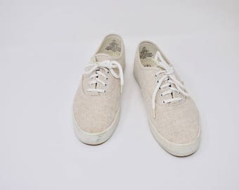 beige tennis shoes / BALLONS sneakers / 7