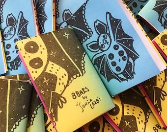 8 Bats - Mini Zine/Poster