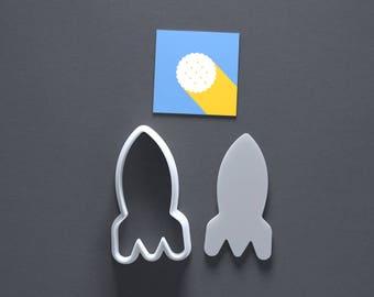 Rocket cookie cutter, rocketship cookies, spaceship
