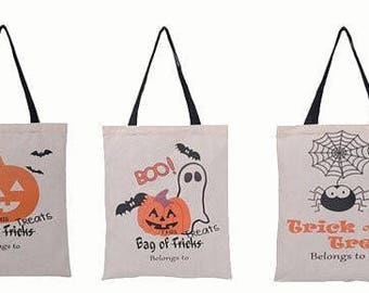 Halloween Tote, Halloween Bag