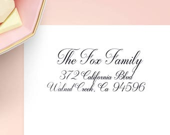 Wedding Address Labels, Family Return Address Labels, Wedding Stickers, Wedding Invitation, Address Stickers, Wedding Labels, Calligraphy