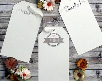 6 cardstock to Tableau de mariage