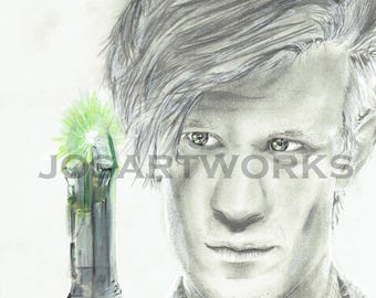 11th Doctor Art, Doctor Who, The Doctor