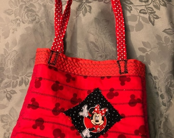 Small Minnie Mouse tote