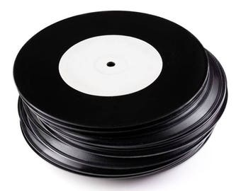 "Short Run Special FIve 7""( for Recording Artists/Bands Only :) in Black Or Clear"
