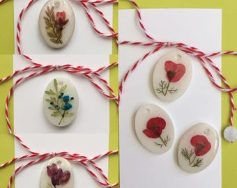 Martisor SALE!! - frozen flowers-handmade in the US