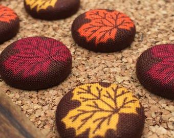 Fall Pins,Thumb Tacks,Autumn Decor,Leaf Decor,Pushpins,Thumbtacks,Fall Decorations,Push Pins,Autumn Decorations,Autumn Gift Ideas,Fall Gifts
