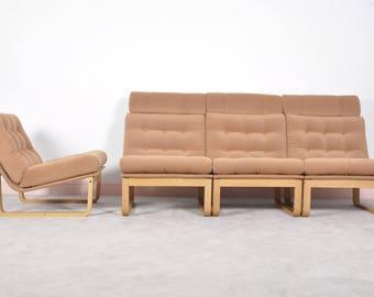 Sectional Sofa by Rud Thygesen & Johnny Sorensen for Magnus Olsen, Durup,1960s