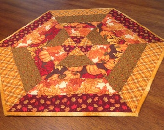 Quilted Fall Table Mat