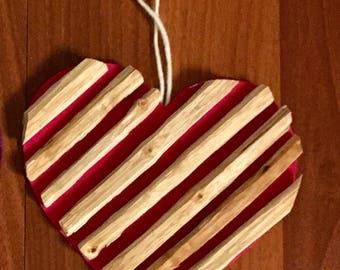 Holiday Heart Ornament