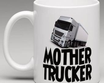 Mother Trucker Mug - Lorry / Truck Drivers Mug