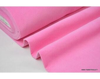 Pink .x1m cotton corduroy fabric