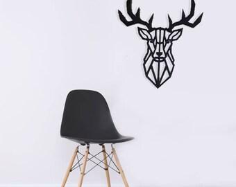 Deer  Wall Decor, Rustic Wall Decor, Wildlife  Art, Gift Idea, Wall Decor, wall Hanger art, african art