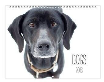 2018 Wall Calendar - DOGS
