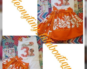 Baby moana 3 piece set