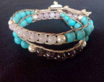 crystal wrap around bracelet