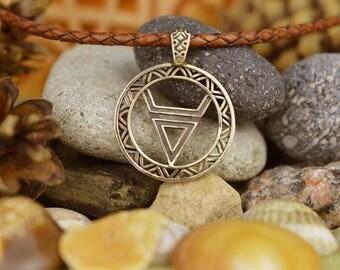BIG Veles symbol. Weles. Slavic wealth talisman. Veles symbol. Handmade Weles. Scandinavian Viking Amulet. Nordic Talisman Jewelry.