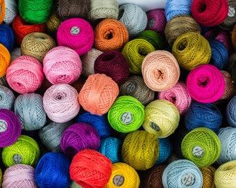 Perlé Cotton Color Packs