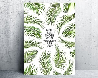 palm leaves print, palm leaf prints, palm leaf print, palm printable art, printable leaf palm, downloadable prints, palm print, printables