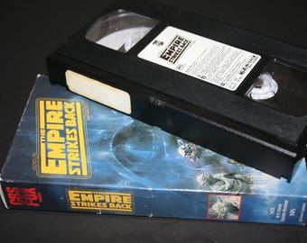 The Empire Strikes Back, VHS , Star Wars Series, Mark Hamill,  Harrison Ford, Carrie Fisher, Darth Vader,  1980 Movie