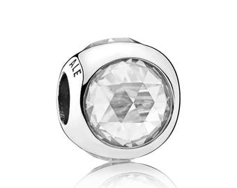 Authentic Pandora Radiant Droplet Clear Charm