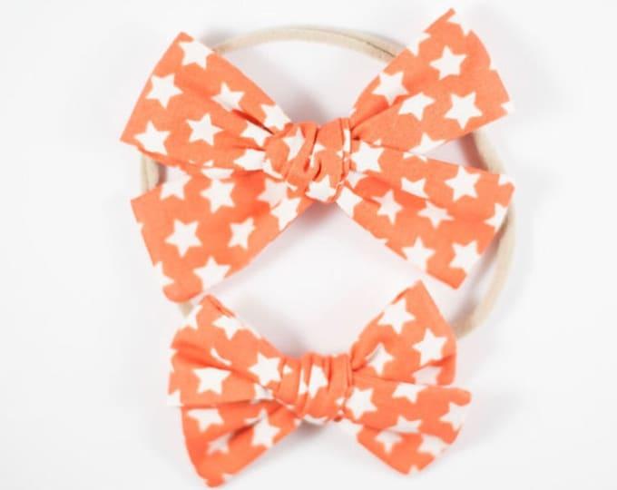 Sloane bow || Stars