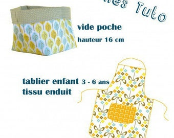 Tutorial apron child and empty Pocket
