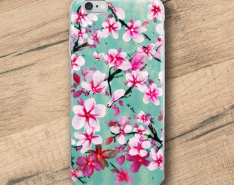 Watercolor Blossoms, iPhone Case