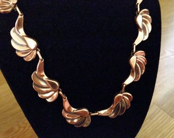 Beautiful Renoir Copper Necklace
