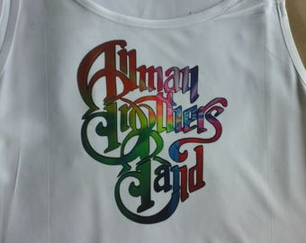 Allman Brothers Color Swirl Tshirt