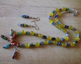 Jewelry Set: Pineapple