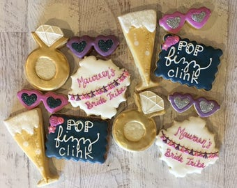 Bride Tribe Sugar Cookie Set