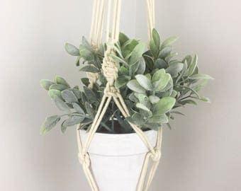 Macrame Plant Hanger | Plant Hanger |  Hanging Planter | Home Decor