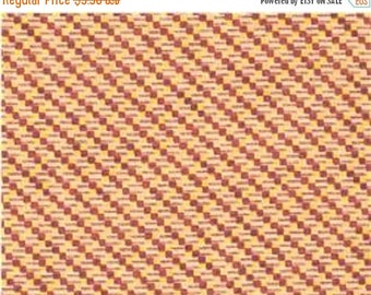 """ON SALE Paint Brush Prints for Fabric Quilt   """"Belle Of The South""""  Tiny Geo  Ecru    BTY"""