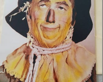 Giant Scarecrow greeting card