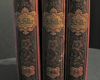 Friedrich Schillers Fammtliche Werte in Zwolf Banden (German)