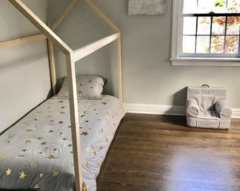 """Twin Bed Frame house bed (2x3"""" pieces)"""