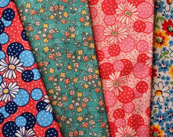 The Roaring 20's and Beyond by Betsy Telford for RJR - half yard bundle - 4 pieces