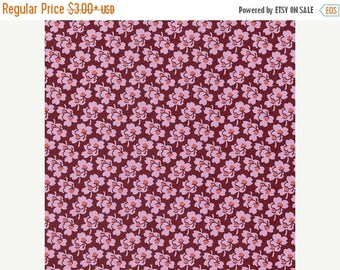 Sale Pansies in Amber from the Eternal Sunshine Collection by Amy Butler - Cotton Quilting Fabric