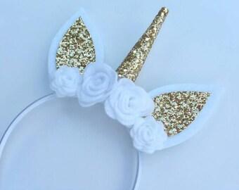 Unicorn Headband, Unicorn Party, Unicorn Party Favors, Unicorn Photo props, Unicorn Crown, Unicorn Birthday, unicorn horn, smash cake prop