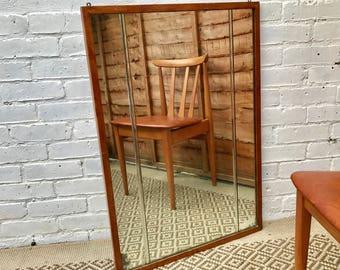 Mid Century Vintage Wall Mirror #363