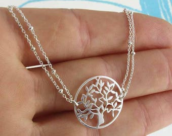 Silver tree of life (made in France)