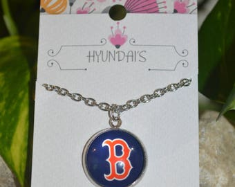 Boston Red Sox chain necklaces!