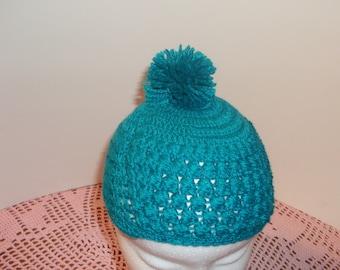 Hat green Nile 1/2 years crochet