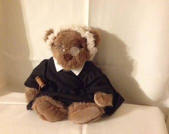 "Adorable High Quality ""The Judge"" Vintage Teddy Bear"