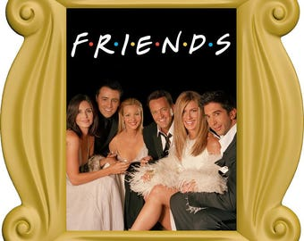 FRIENDS Frame Wall Decal, Friends TV Show, Friends Gifts, Frame with Photo #1