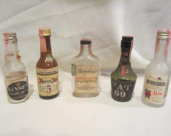 Miniature liquor | Etsy