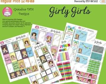 Sticker sale Girly Girls