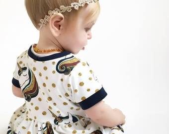 Unicorn Dress, girls dress, toddler, handmade, dresses, baby dress, newborn, baby gift, girls dress, unicorns, girls clothes, girls clothing