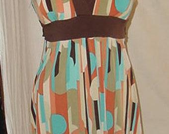 Mod Trendy Cool Funky Dress  size S